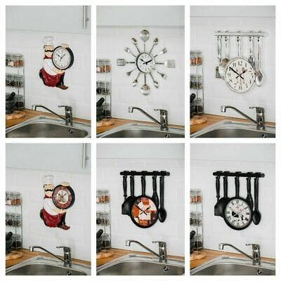 New Outdoor Bracket Garden Swivel Station Wall Clock Vintage Giant Double Sided