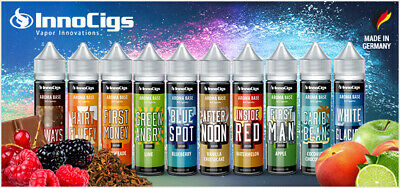 InnoCigs Liquid Premium E-Liquid Shake & Vape 30 Sorten MADE IN GERMANY