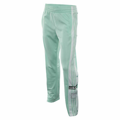 fc9e2e328388 ADIDAS WOMEN S NEW Originals Adibreak Track Pants Mint white Size M ...