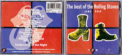 Cd 18T Jump Back The Best Of The Rolling Stones (1971 - 1993) De 1993 Tbe