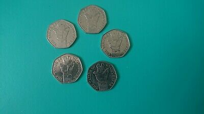 1x 2018 Beatrix Potter 50p. TAILOR OF GLOUCESTER. Fifty Pence. From Bagged Coins