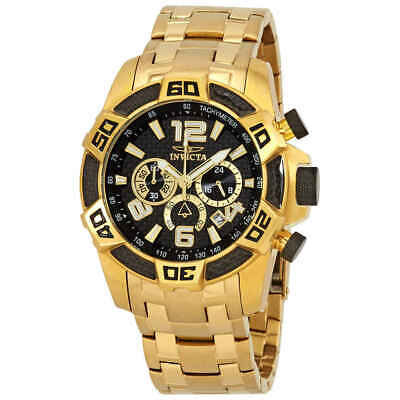Invicta Pro Diver Black Dial Chronograph Men's Watch 25853