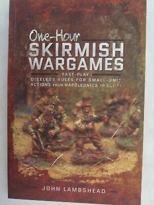 One-hour Skirmish Wargames - Fast-play Dice-less Rules for Small-unit Actions