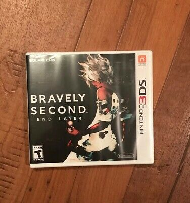 Bravely Second: End Layer (Nintendo 3DS, 2016) SEALED