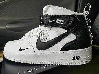 huge selection of fd9b3 467a2 Nike Air Force 1 MID 07 LV8 Men s sz 12 White Black Tour Yellow 804609-