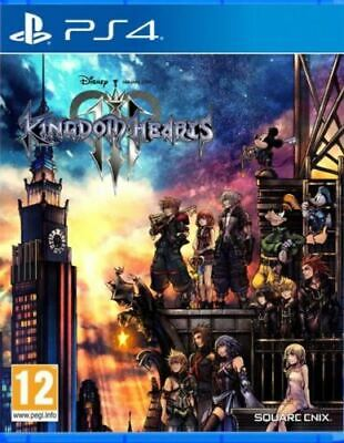 Sony Ps4 Kingdom Hearts 3 Iii Pal Italiano Completo Playstation 4
