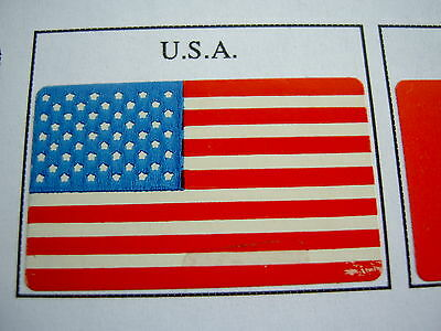 USA Stick Flag Labels Self-Adhesive United States of America Stickers DRAPEAUX