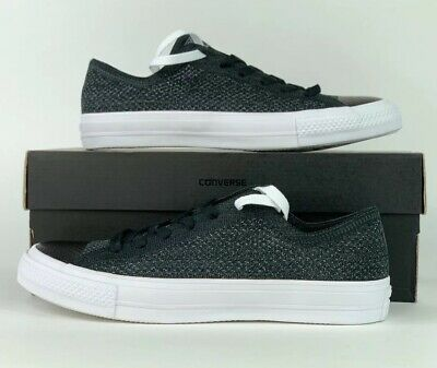 d1c9cb21147 Converse Chuck Taylor All Star x Nike Flyknit Ox Anthracite 157591C Sz 8.5
