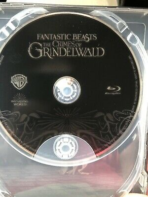 Fantastic Beasts: The Crimes of Grindelwald Blu-ray DISC ONLY