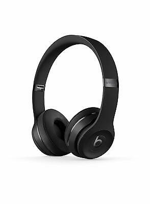 Beats by Dre Solo3 Wireless Over Ear Headset Head Phones Solo 3 - Matte Black