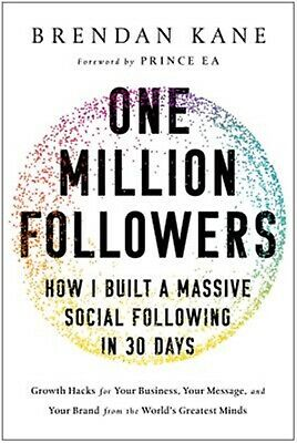 One Million Followers How I Built Massive Social Following in  by Kane Brendan