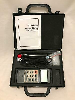 Traceable Digital Dissolved Oxygen/Temp Meter & Probe