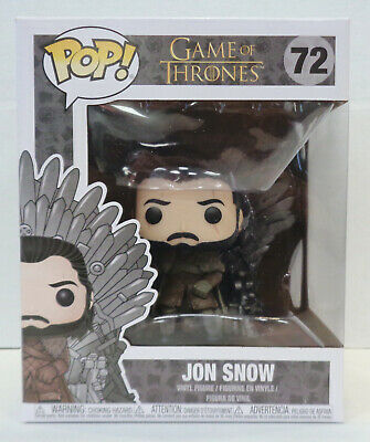 Game Of Thrones: Jon Snow POP! Figure #72 (2019) Funko New