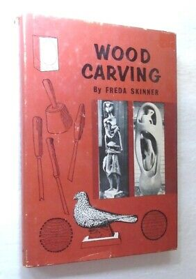 Vintage 1961 Wood Carving Techniques Tools Woodworking Hb 15 00