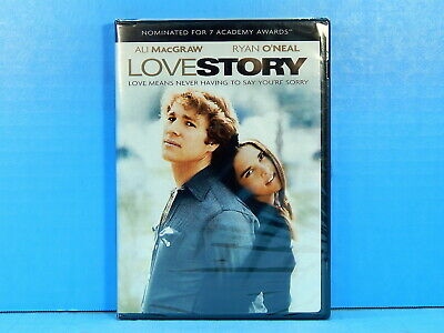 Love Story - Ali MacGraw & Ryan O'Neal (DVD) NEW