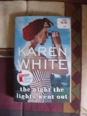The Night The Lights Went Out By Karen White (2017) Sc, Like New, A Thriller
