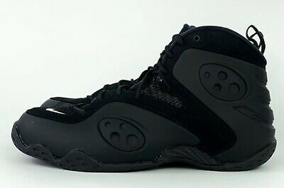 4b9ad8cbf51 Nike Air Zoom Rookie  Triple Black  Penny Foamposite Sneaker BQ3379-002 Sz