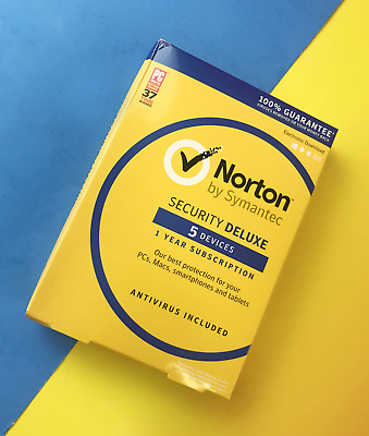 Norton by Symantec Security Deluxe for 5 Devices - Virus Protection #2756