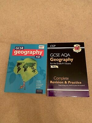 AQA GCSE Geography Textbook (2016) & Revision Guide. Both for new grade 9-1 exam