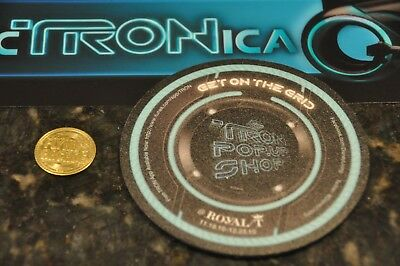 Dca Tron Legacy Electronica Brochure, Coin, And Coaster