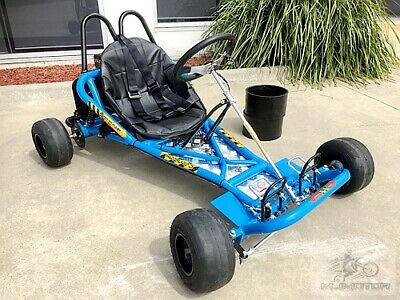 200CC 6.5HP Drift Trike Go Kart Dune Buggy Quad 4 Stroke Upgraded Sleeves