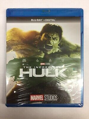 The Incredible Hulk [Blu-ray + Digital] **New, Free Shipping **