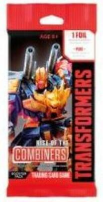 WOTC Card Game Rise Of The Combiners Booster Pack MINT