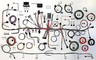 1987-89 Ford Mustang American Autowire Wiring Harness Kit 510547