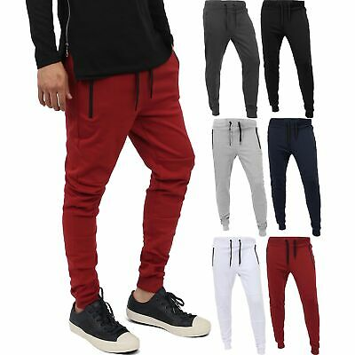 SMALL~5XL TR548-N12B Men/'s Sport Workout Scrunched Bungee Techno Track Pants