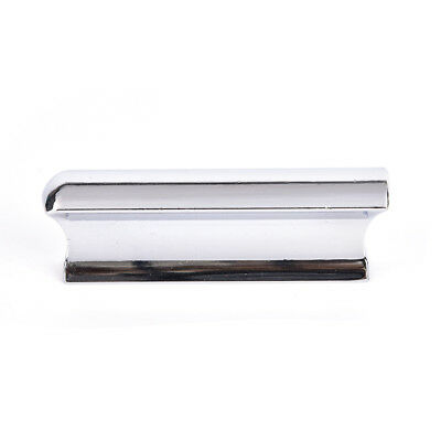 Metal Silver Guitar Slide Steel Stainless Tone Bar Hawaiian Slider For GuitFBDU