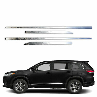 4p Upper Accent Trim fits 2014-2018 Toyota Highlander by Brighter Design