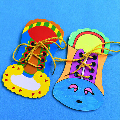 Lacing Shoes Child Baby Kids Educational Toy Early Teaching How To Tie Shoelaces
