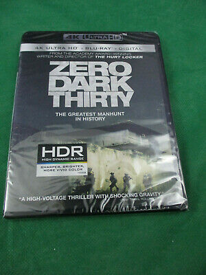 ZERO DARK THIRTY [New 4K UHD Blu-ray] Only At Best Buy, With