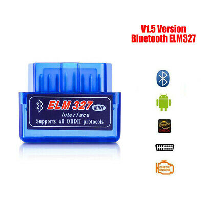ELM327 OBD2 Mini Code Reader Scanner Car V1.5 Bluetooth Diagnostic Fit Android