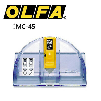 OLFA MC-45 Degree Mat Cutter Knife Leather Paper Craft Utility MADE IN JAPAN