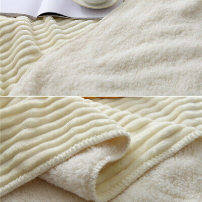 Throw Blanket Cotton Rug Slipcover 100*150cm Home Office Car Travel Weave Bed