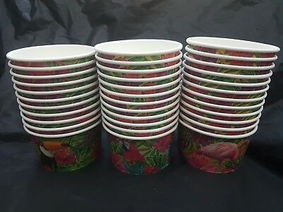 36 x ICE CREAM TUBS CUPS Party Van Parlour
