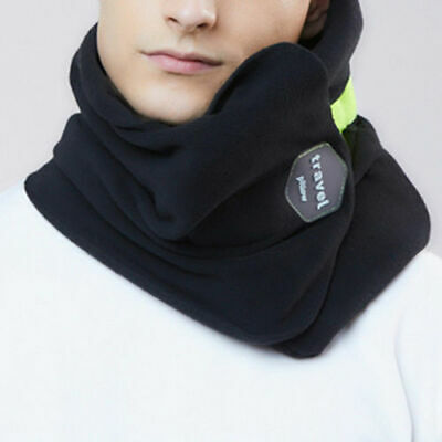 Portable Travel Scarf Pillow Proven Neck Support Sitting Nap Soft Comfortable