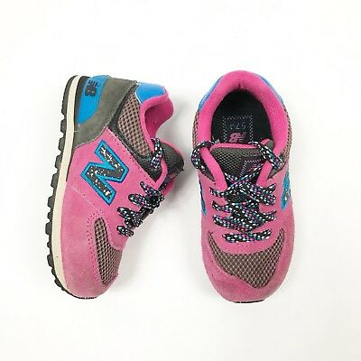 ecd69a17f3c0a New Balance 574 Retro Athletic Sneakers Youth Girls size 6.5 M Pink Kids  shoes