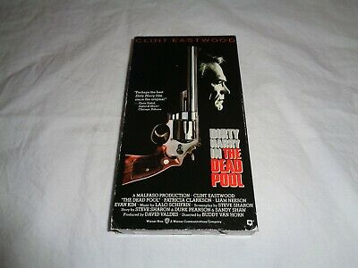 DIRTY HARRY - IN THE DEAD POOL  (VHS) Clint Eastwood