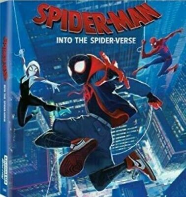 Spider-Man: Into the Spider-Verse (DVD 2018, 2019) NEW SHIPS FROM USA FREE SHIP