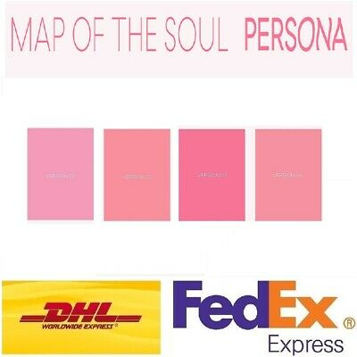 BTS MAP OF THE SOUL PERSONA Album 4Ver SET CD+Photobook+Photocard Sealed Express