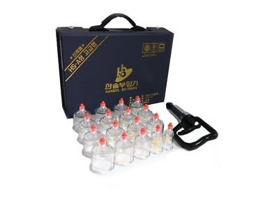 Cupping Set 17 Cups Massage Acupuncture Health Vacuum Therapy Hansol_ic Health & Beauty
