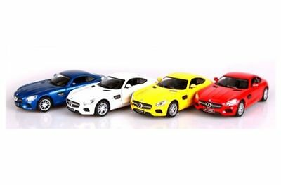 Mercedes Amg Gt Miniature Car 1 36 Scale Mini Display Red