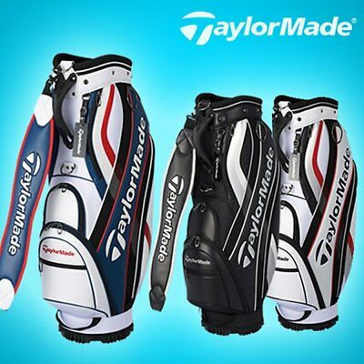 Latest TAYLORMADE TM M-5 Middle Size Golf Caddy Bag 3 Color Tour Carry Cart