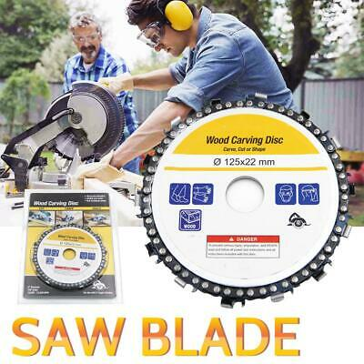 Circular Saw plate Blade Disc Grinder Chain Plat 5'' Angle Wood Carving 14 Chain