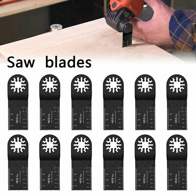 12x 24x 32mm Saw Blades Teeth Carbon Steel Multi Tool Bosch Oscillating Cutter