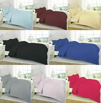 T200 Extra Deep With 16 Inches/40cm Box Percale Fitted Bed Sheets All Sizes