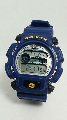 Casio G-Shock DW9052-2 Digital Sport Watch. Chronograph, Alarm. W.R.200M... Blue