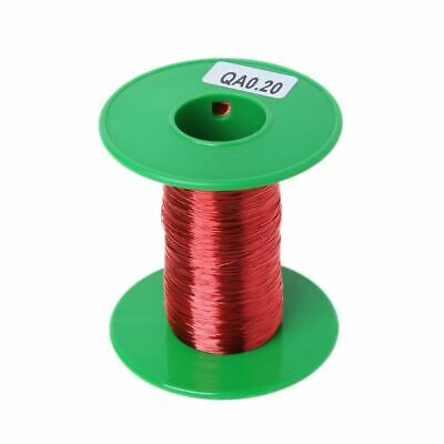 New 100m QA Polyurethane Enameled Copper Wire 0.2mm Welding Wires Coil Winding